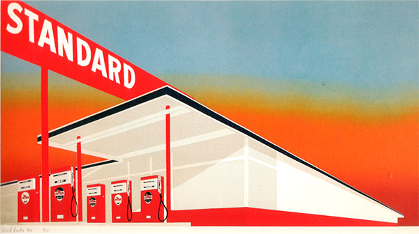 Ed Ruscha - Standard Station