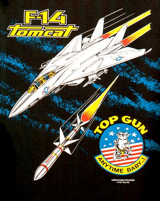 F14 Tomcat T-Shirt Screen Print