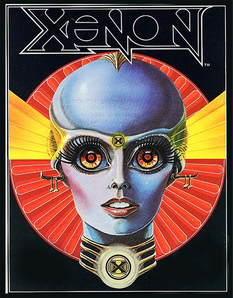 Xenon - Pinball Flyer