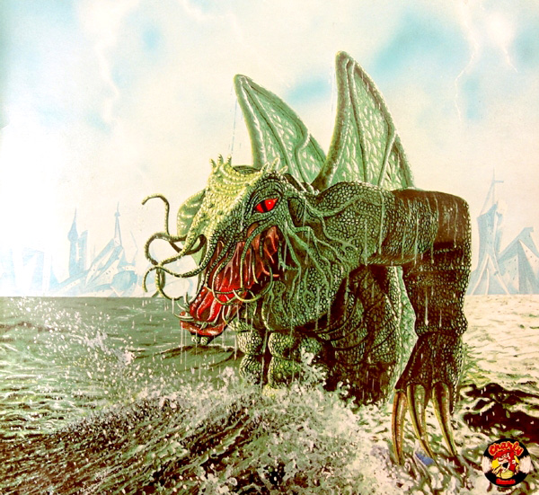 Terry Oakes - Vangelis The Dragon