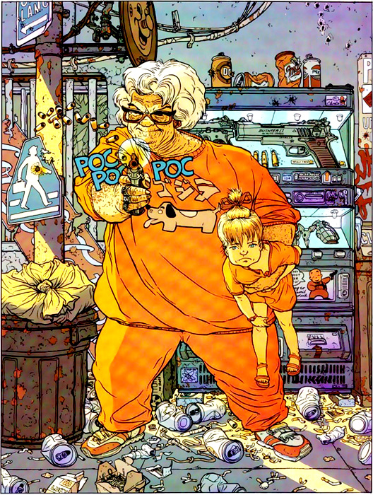 Geof Darrow - Hard Boiled