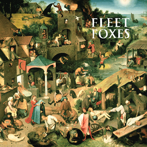 Fleet Foxes LP Cover