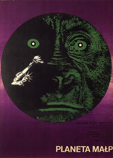 Planet of The Apes - Polish Poster