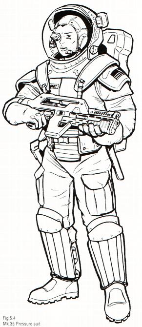 Mk.35 Pressure Suit
