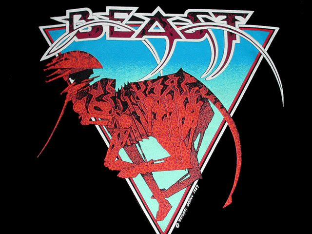 Roger Dean – Shadow of the Beast T Shirt