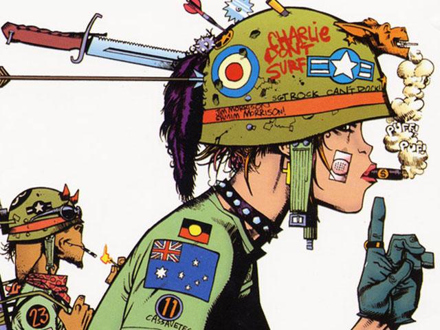 Jamie Hewlett – Tank Girl