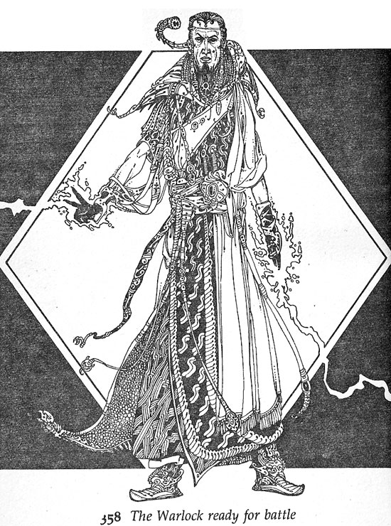 Russ Nicholson - Warlock of Firetop Mountain