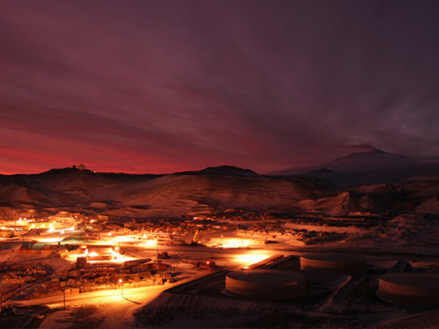 McMurdo Station Antarctica