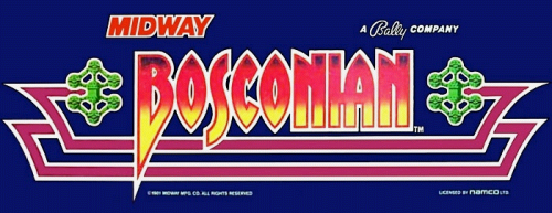 Bosconian Marquee