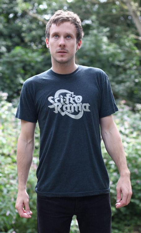 Sci-FI-O-Rama Black Aqua Limited Edition T Shirt