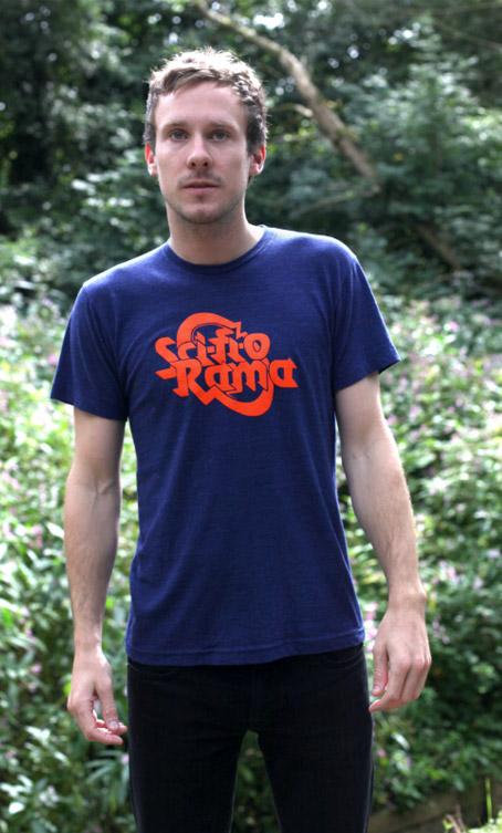 Sci-FI-O-Rama Tri Indigo Limited Edition T Shirt