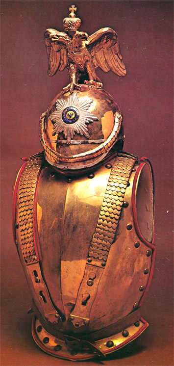 John Mollo - Military Fashion - Cuirass and Helmet
