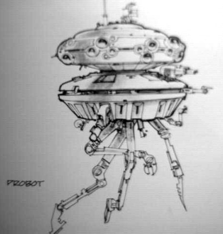 http://www.sci-fi-o-rama.com/wp-content/uploads/2012/05/Jean_Giraud_Imperial_Probe_Droid.jpg