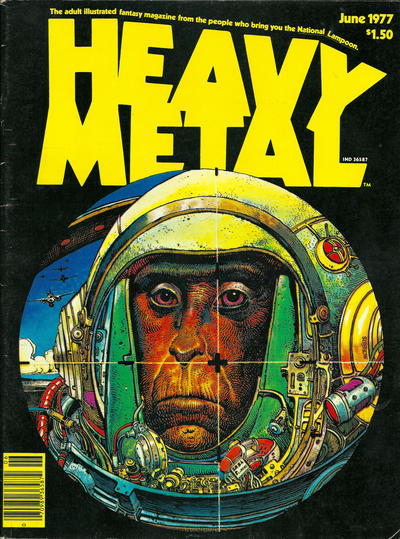 Moebius - Heavy Metal Cover