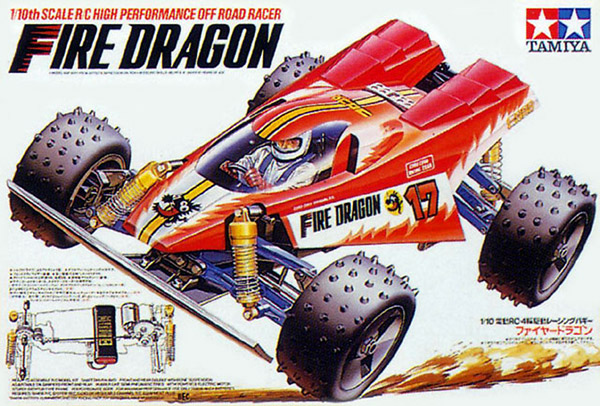 Tamiya - Fire Dragon