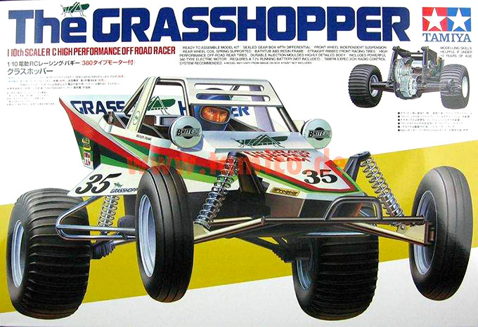 Tamiya - The Grasshopper
