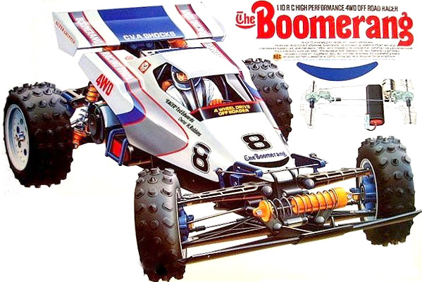 Tamiya - The Boomerang