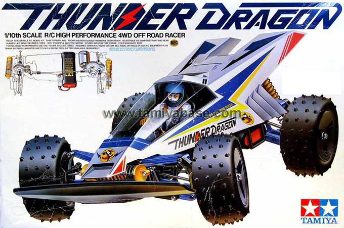 Tamiya - Thunder Dragon