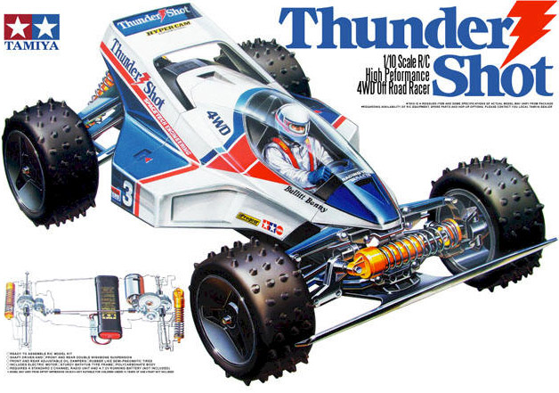 Tamiya - Thunder Shot