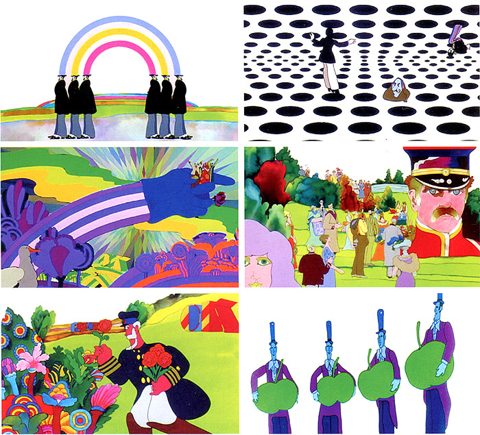 Heinz Edelmann - Yellow Submarine Stills