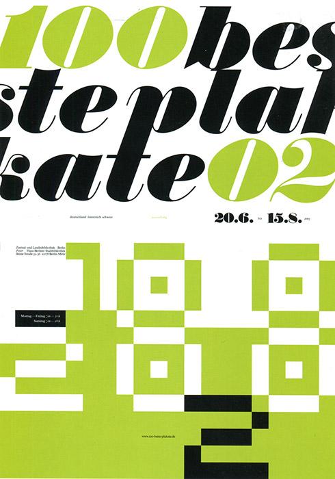 '100 Best Posters 02' Dieter Fiedler
