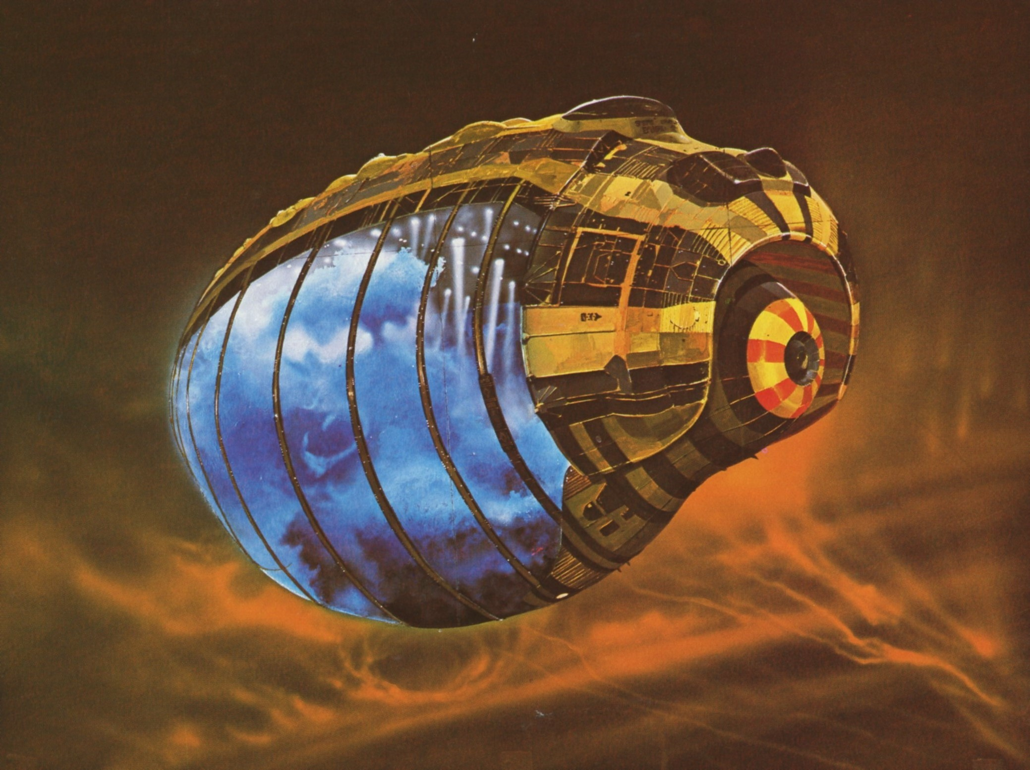 Chris Foss by Jeff Love