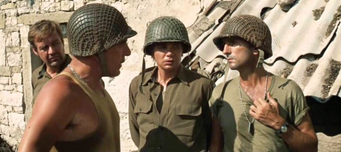 Harry Dean Stanton in Kelly's Heroes 1970 (right)