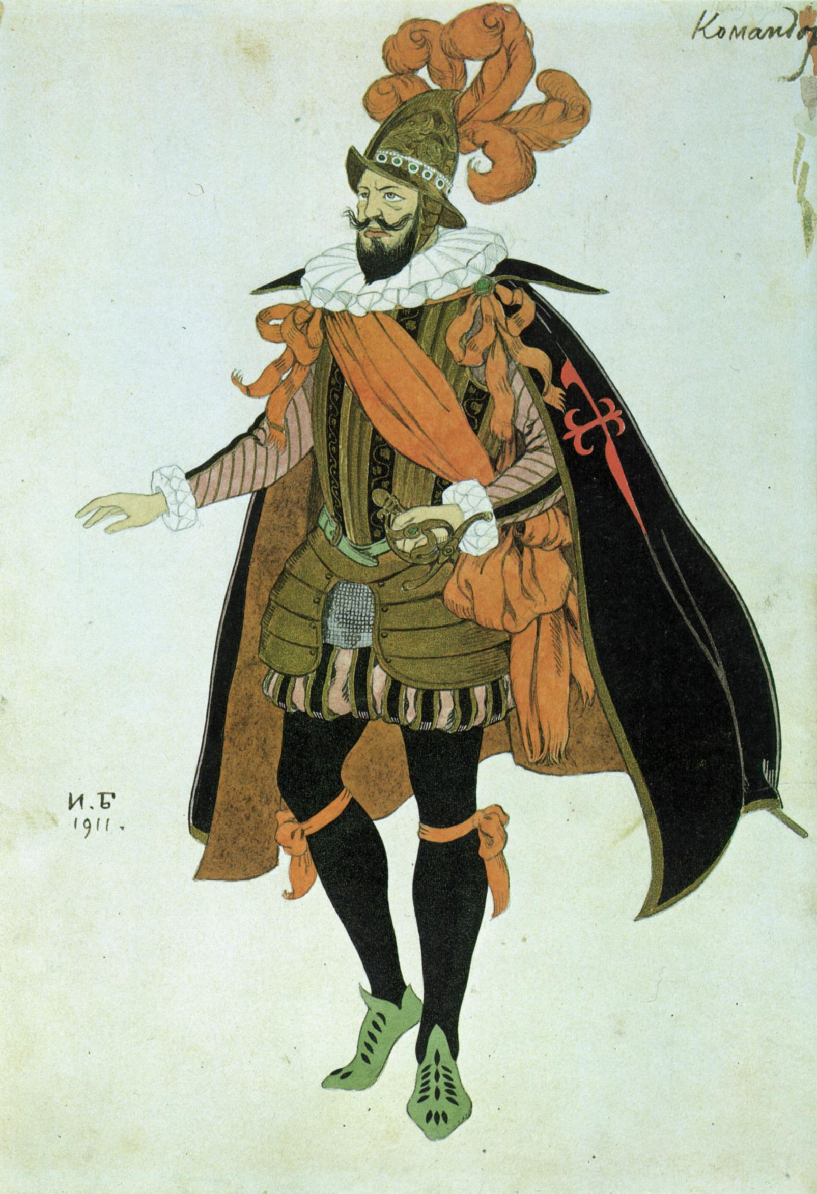 Ivan Bilibin - Comandor