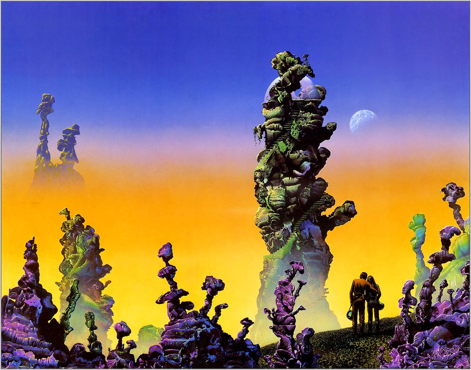 Classic Science-Fiction Illustrators (Part 2) – Tim White