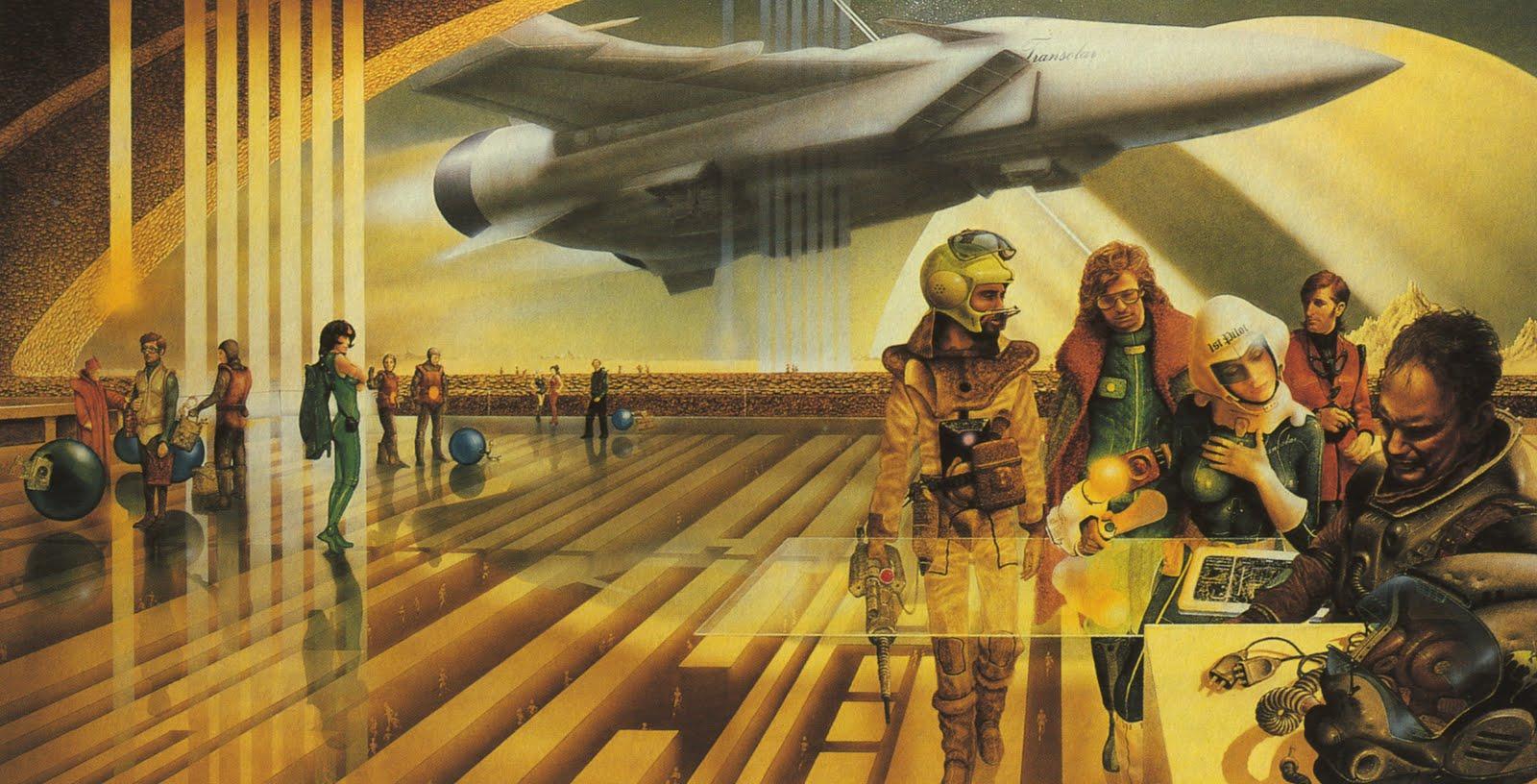Jim Burns - Mechanismo Spaceport