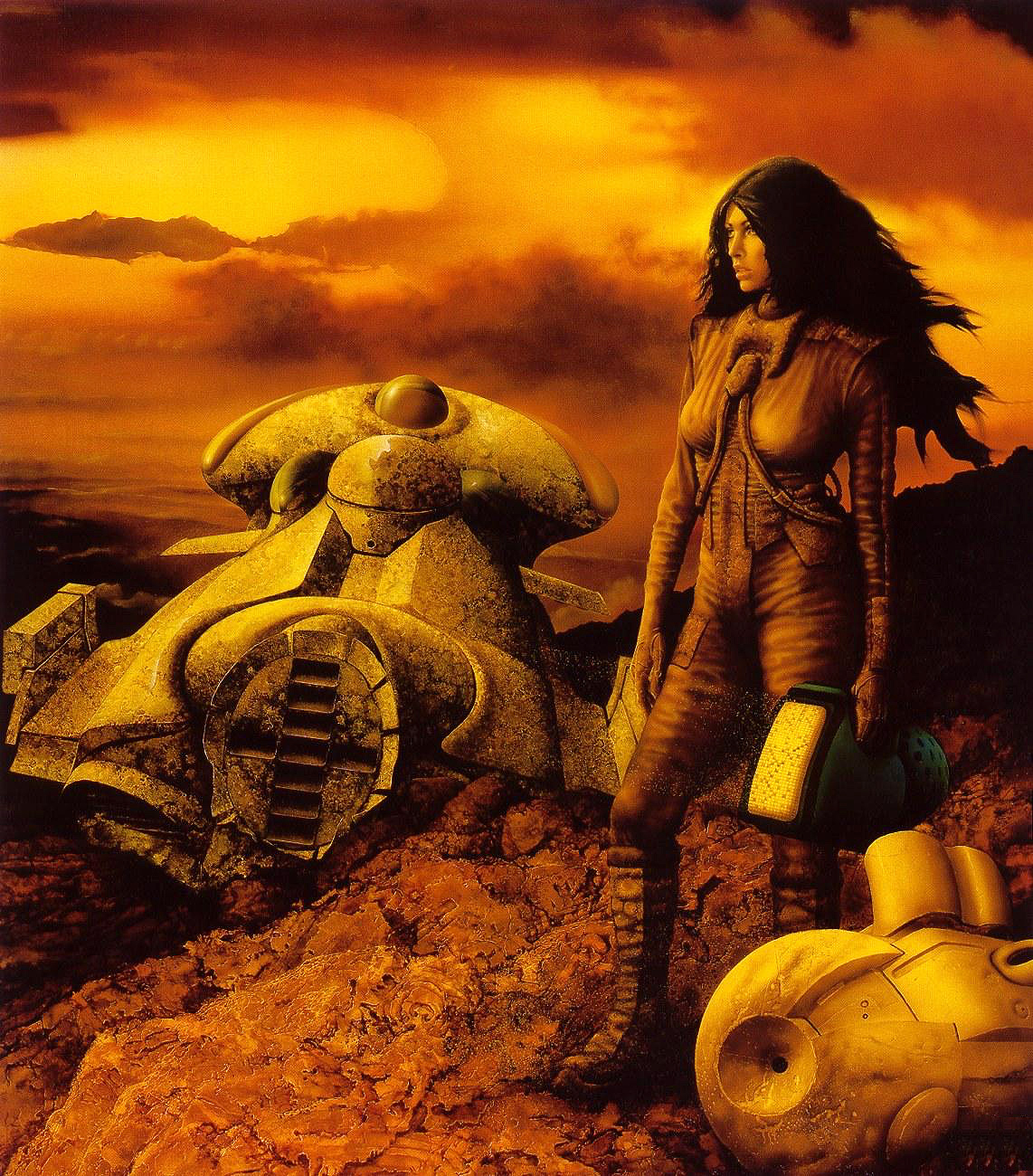 Jim Burns - Brother to Demons Brother to Gods