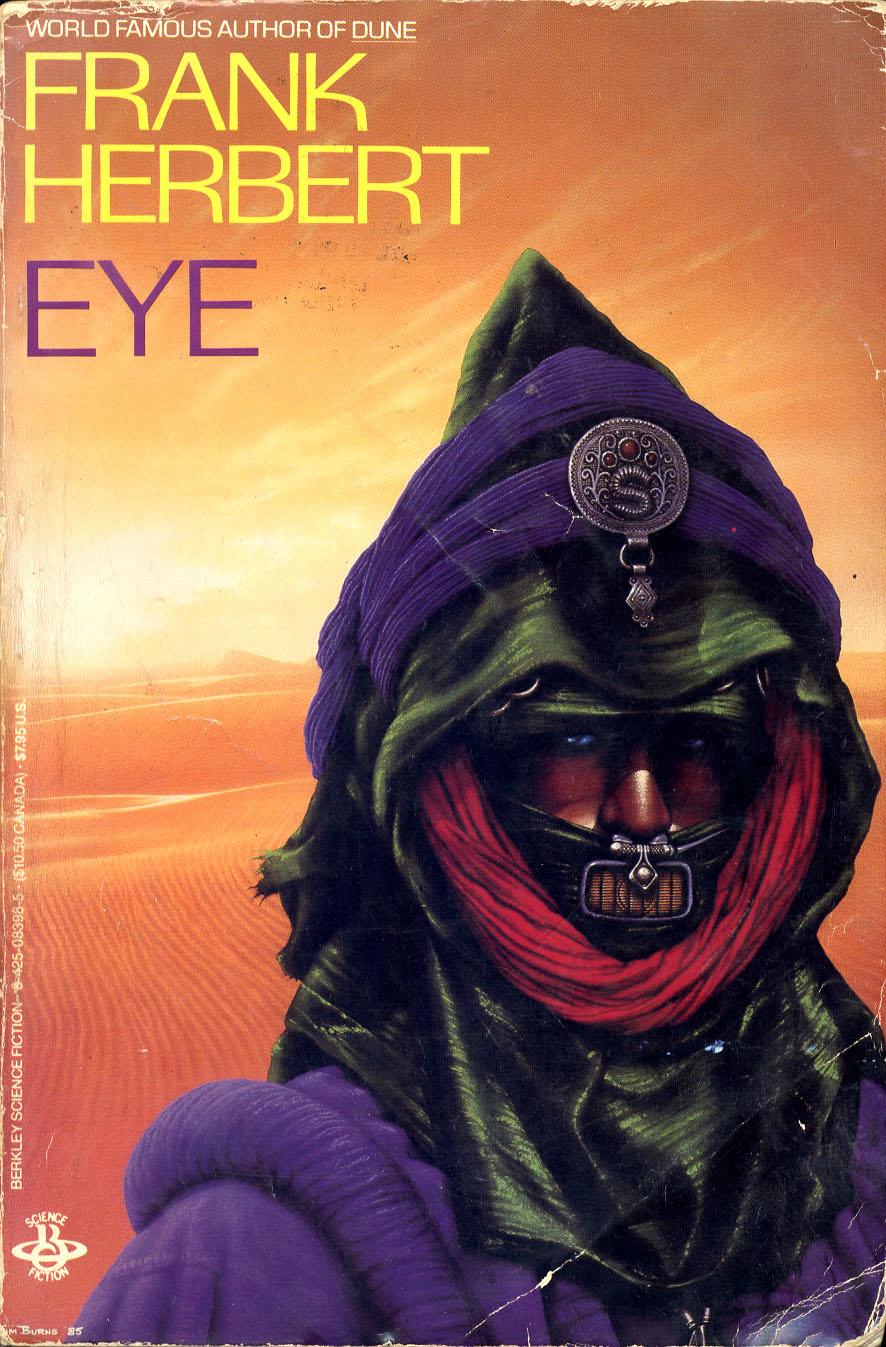 Jim Burns - Frank Herbert's Novel Eye