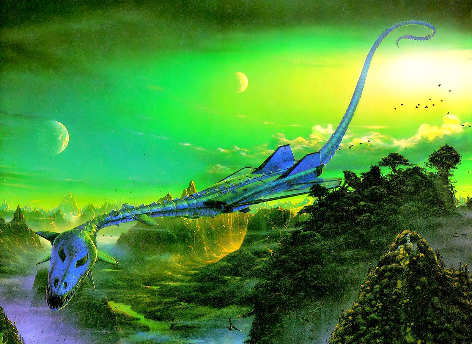 Tim White - The Dragon Drone