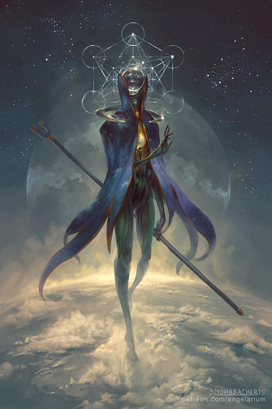 Peter Mohrbacher - Eistibus, Angel of Divination