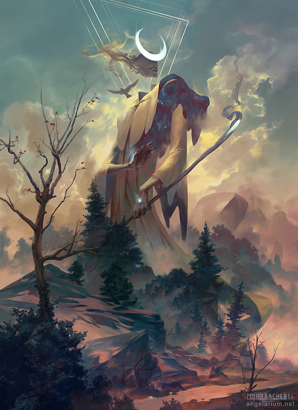 Peter Mohrbacher - Remiel, Angel of Visions