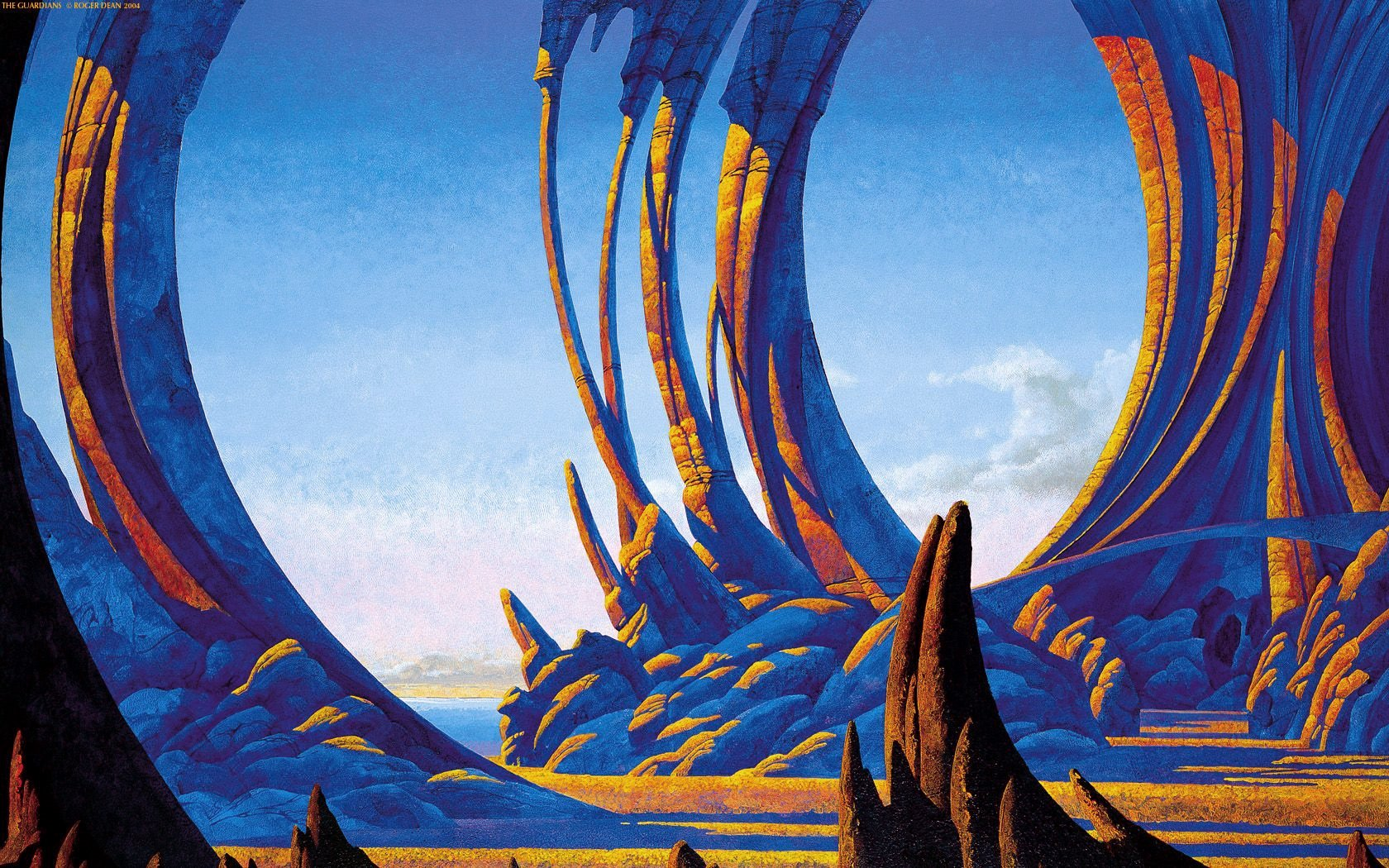 Roger Dean - The Guardians