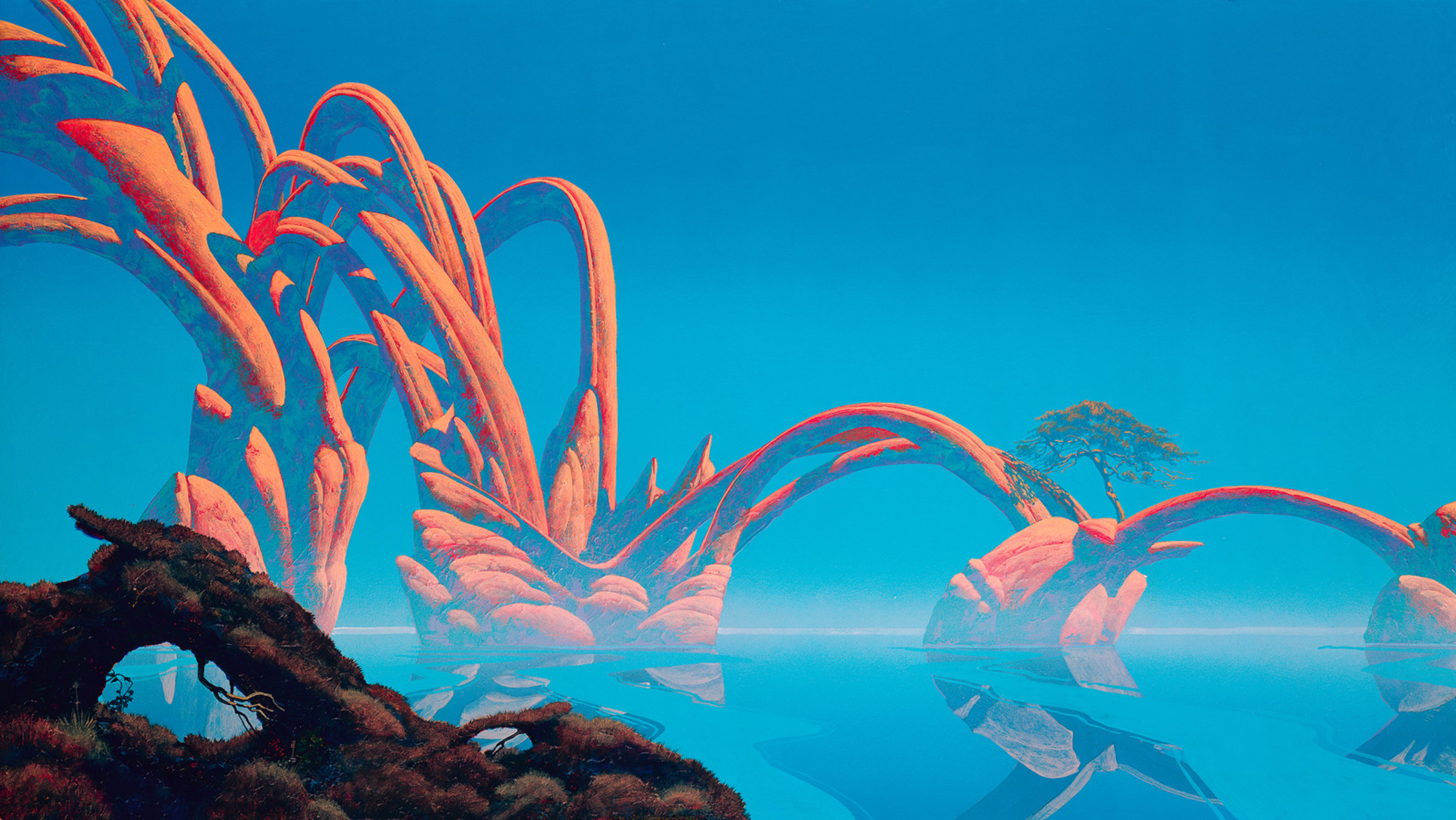 Classic Science-Fiction Illustrators (Part 3) – Roger Dean