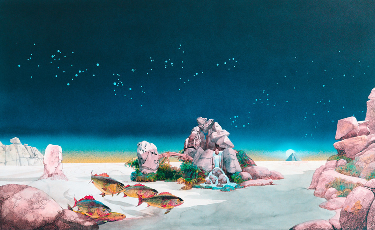 Roger Dean - Tales From Topagraphic Oceans