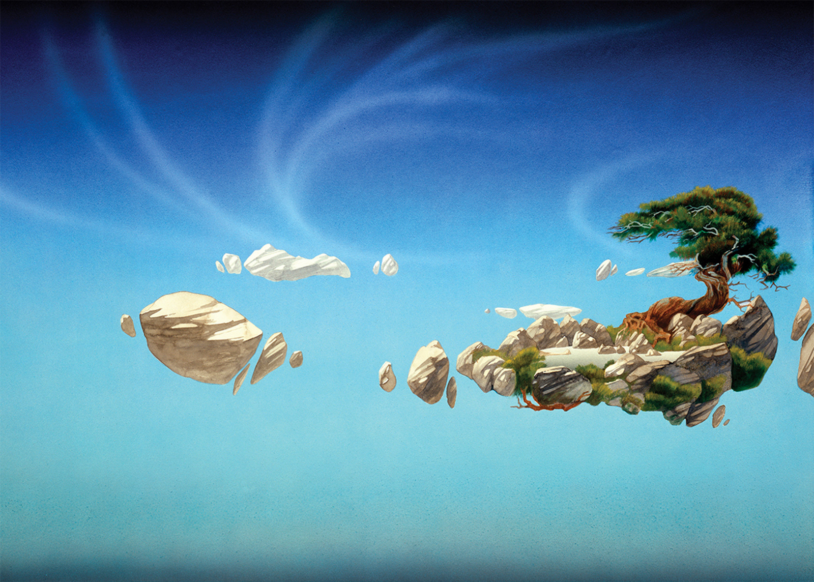 Roger Dean - The Flights of Icarus