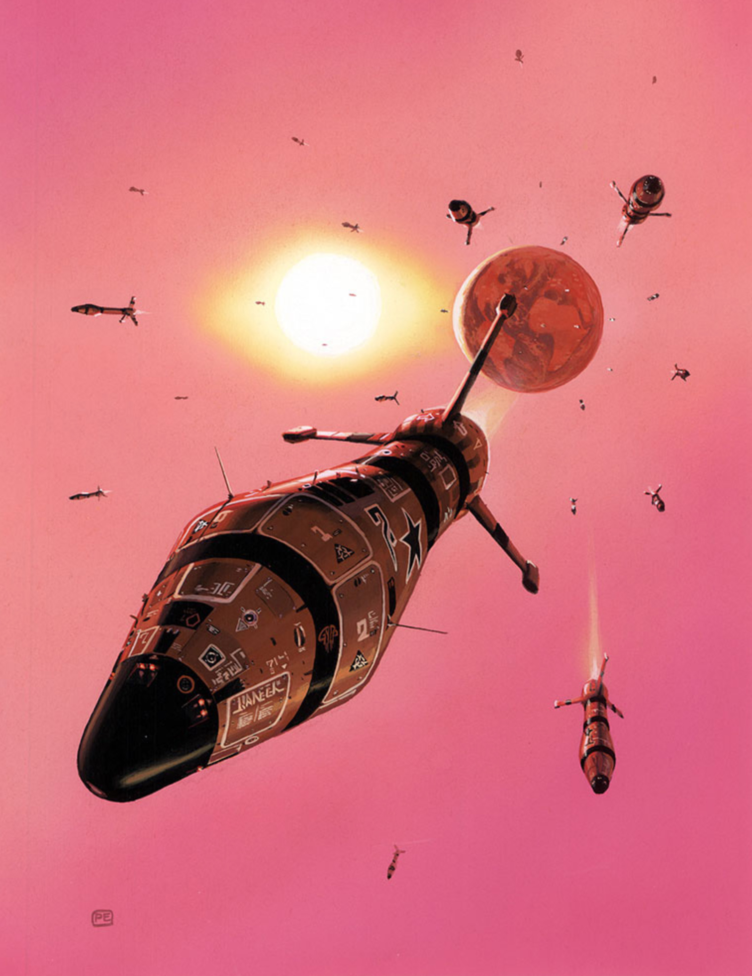 Peter Elson - Pebble In The Sky
