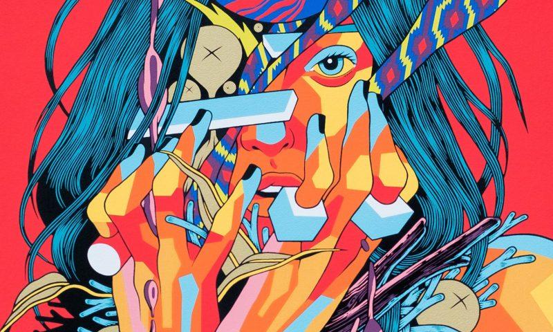 Kaleidoscopic Chaos: The Graphic Art of Bicicleta sem Freio